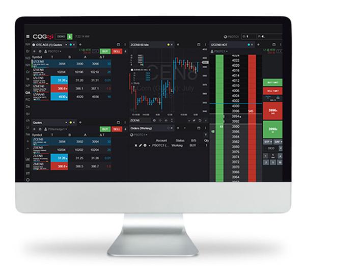 CQG cho Desktop