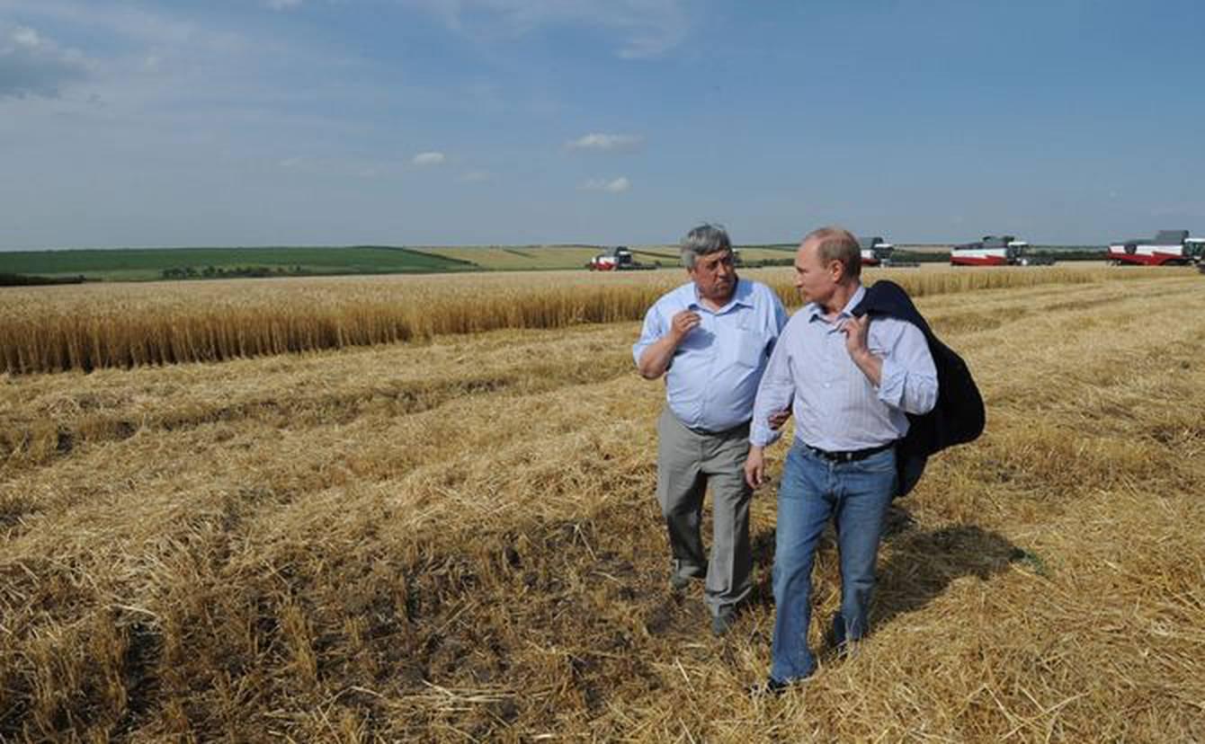 Nga khiến Mỹ dè chừng do khả năng tạo áp lực chính trị từ lúa mì