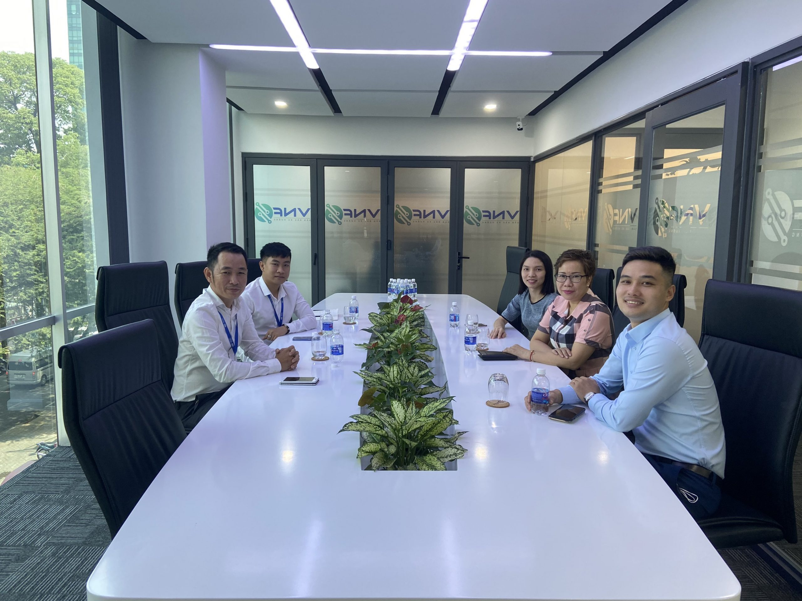 Sở Giao dịch Hàng hóa Việt Nam (MXV) tổ chức thăm và làm việc với Thành viên Kinh doanh VNF